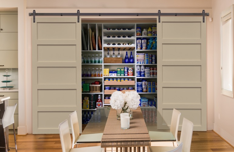 Pantry Sliding Barn Doors In Fort Myers, FL