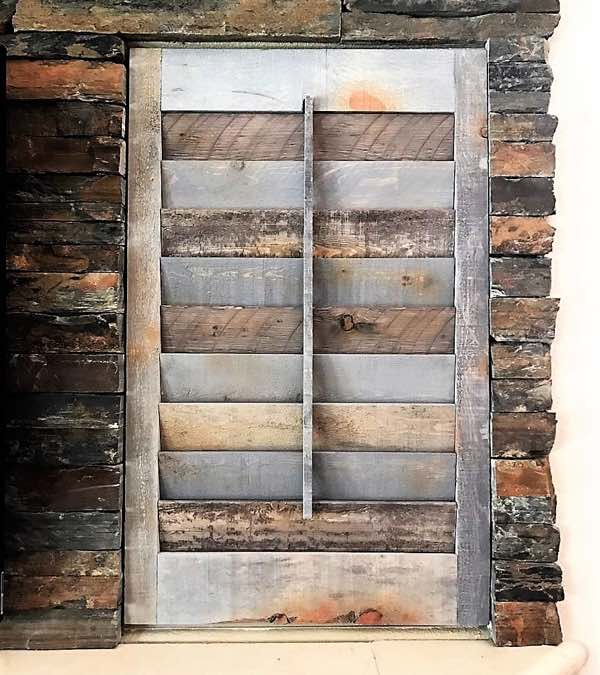 Fort Myers recycled wood shutter