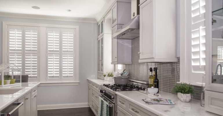 Fort Myers kitchen white shutters