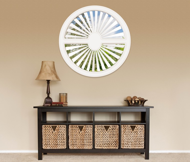 Circular Shutters in Fort Myers, FL