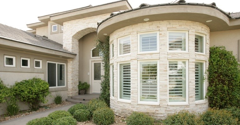 Fort Myers bay window shutter exterior