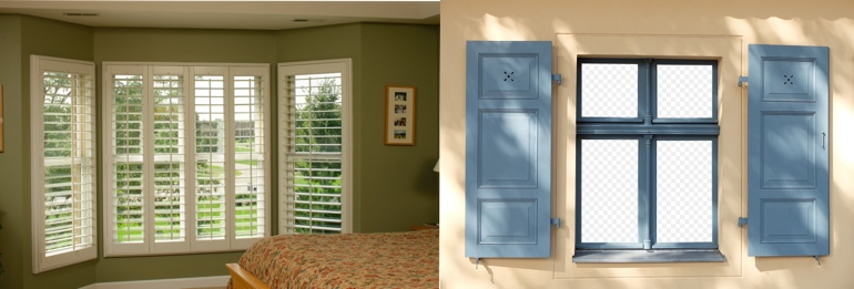 Fort Myers Florida outdoor and indoor shutters