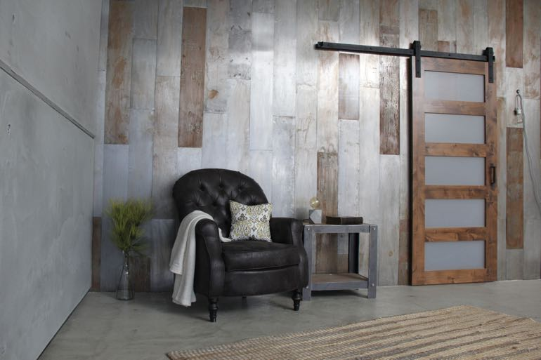 Fort Myers commercial barn door