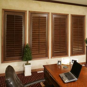 Ovation wood shutters
