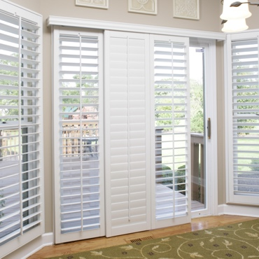 Fort Myers Sliding Patio Door Shutters