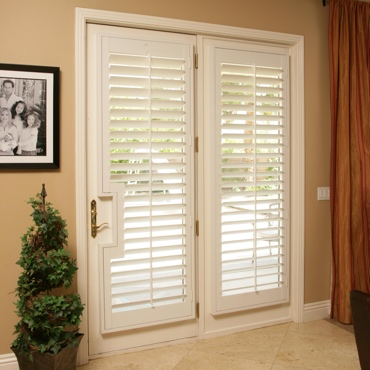 Patio French Door Shutters Fort Myers