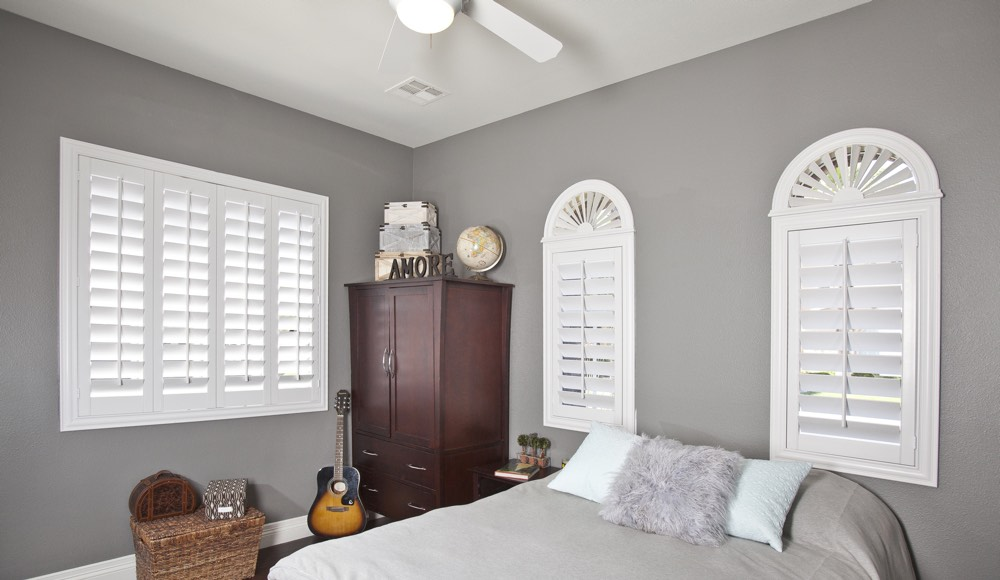 Polywood Shutters In A Fort Myers Bedroom