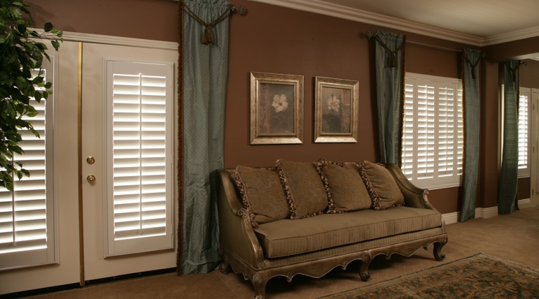 Fort Myers living room french door