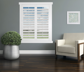 Polywood Shutters in Fort Myers living room