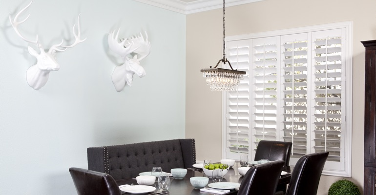 Fort Myers dining room shutters