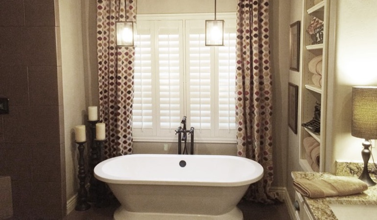 Polywood Shutters in Fort Myers Bathroom