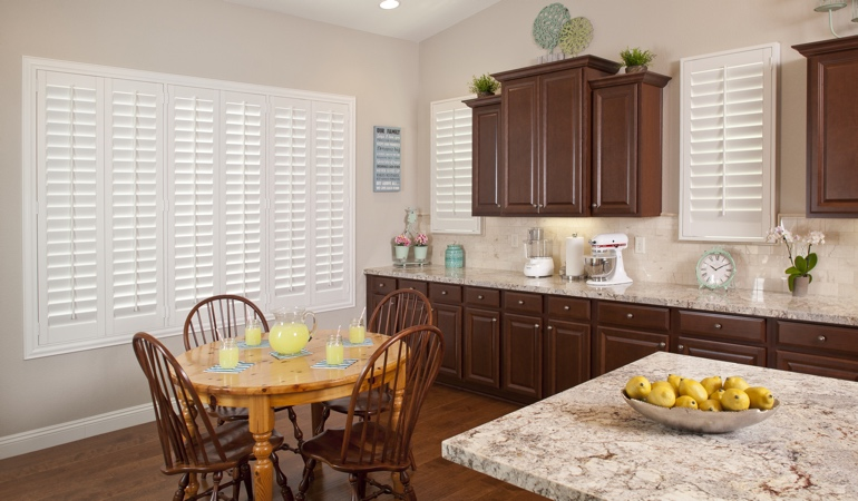 Polywood Shutters in Fort Myers kitchen