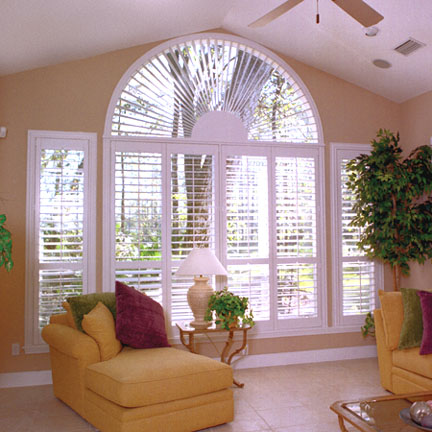 Half circle window shutter Fort Myers