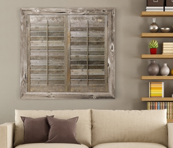 Reclaimed Wood Shutters Product In Fort Myers