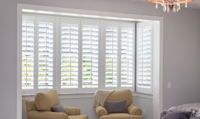 Classic shutters in Fort Myers nook