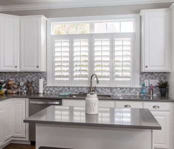 Shutters in Fort Myers kitchen