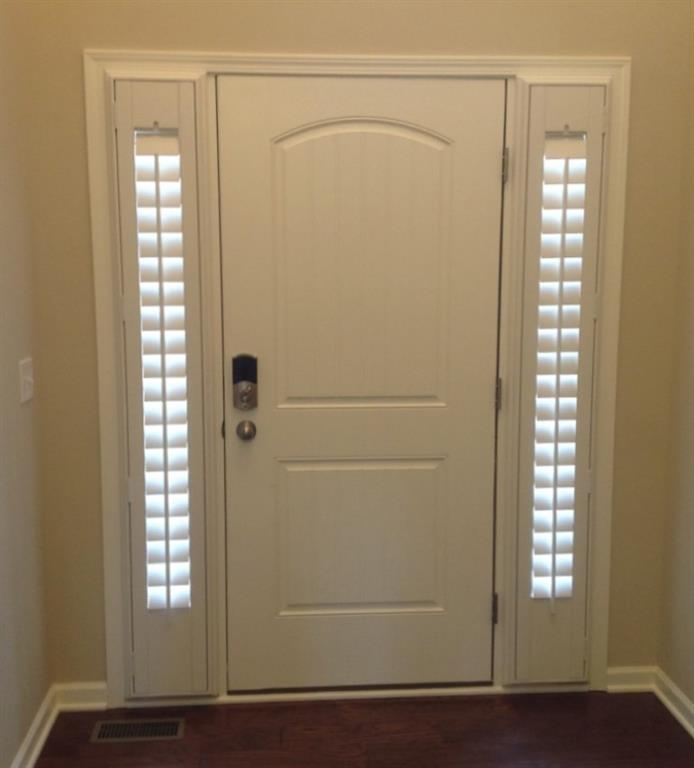 Entry Door Sidelight Shutters In Fort Myers, FL