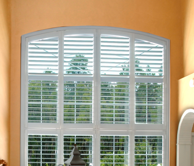Arched Window Shutters In Fort Myers, FL