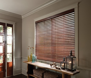 Blinds in Fort Myers home