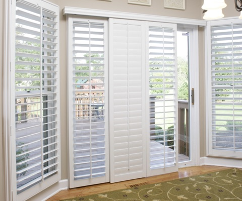 Florida patio door shutters