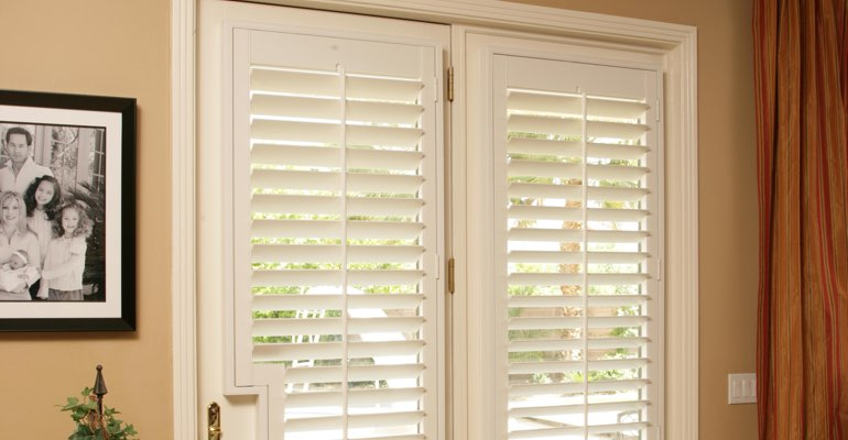 Fort Myers french door plantation shutters