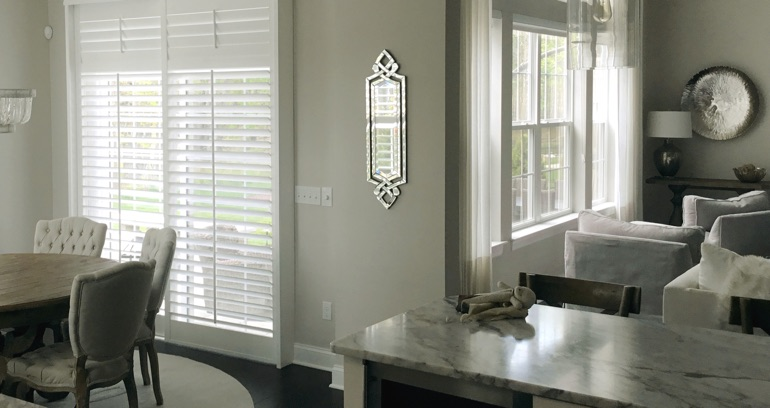 Fort Myers kitchen patio door shutters