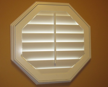 Fort Myers octagon window shutter