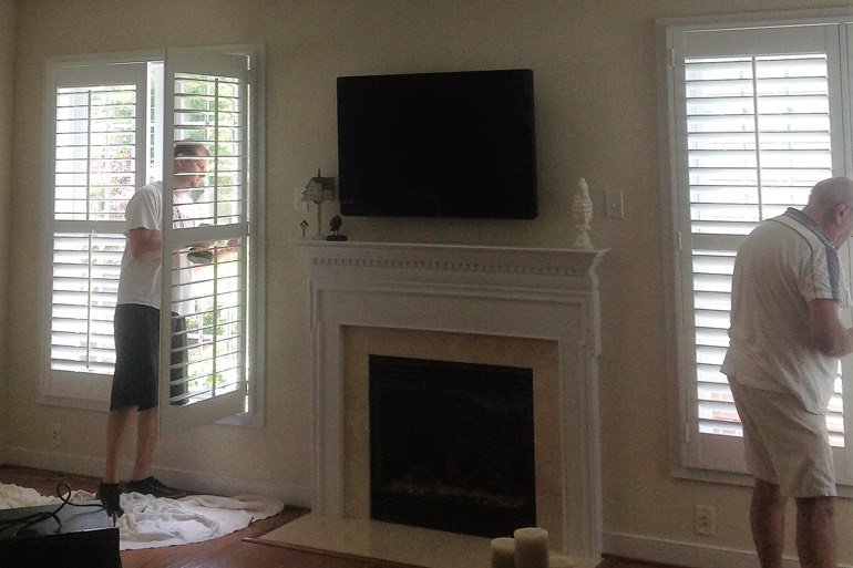 Fort Myers shutter installation