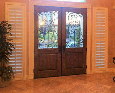 Fort Myers sidelight window treatment shutter