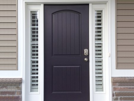 Fort Myers front door shutters